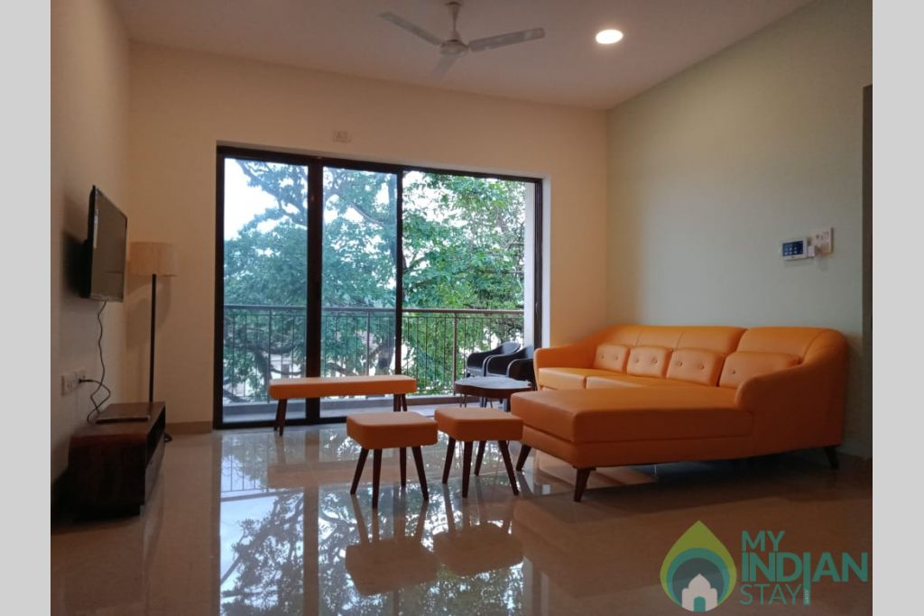 8a3a2162-eac7-4911-9ca6-b7fe1e27ab85 in a Self Catered Apartment in Reis Magos, Goa