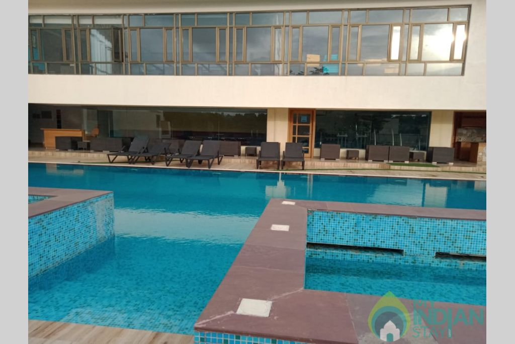 Swimming Pool  in a Self Catered Apartment in Reis Magos, Goa