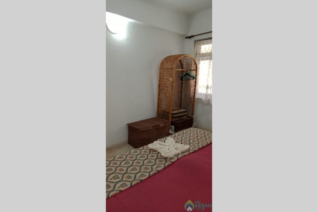 Bedroom 2 in a Serviced Apartment in Candolim, Goa