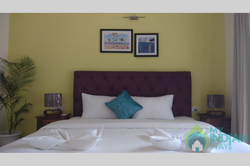 4 in a Serviced Apartment in Penha de França, Goa