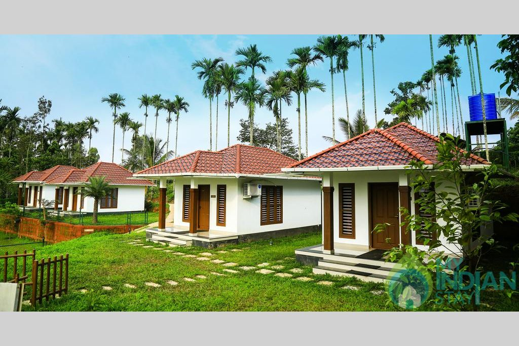 Cottages_ext in a Resort in Wayanad, Kerala