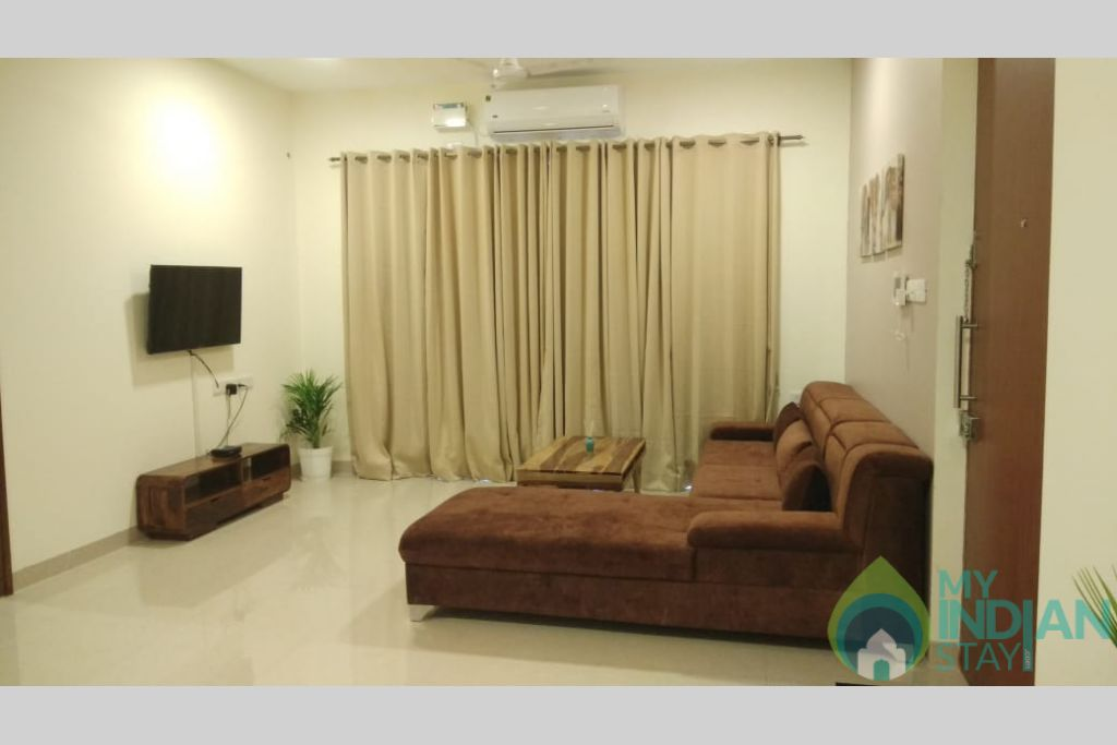 1 in a Self Catered Apartment in Reis Magos, Goa