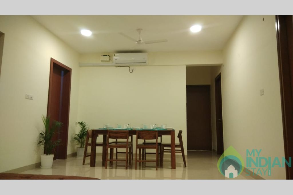 2 in a Self Catered Apartment in Reis Magos, Goa