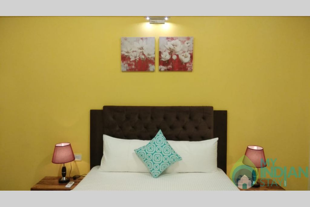 Guest Bedroom 3 in a Self Catered Apartment in Reis Magos, Goa