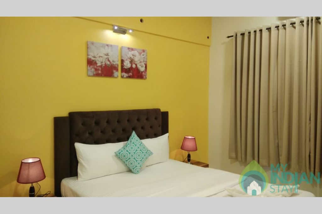 Guest Bedroom in a Self Catered Apartment in Reis Magos, Goa