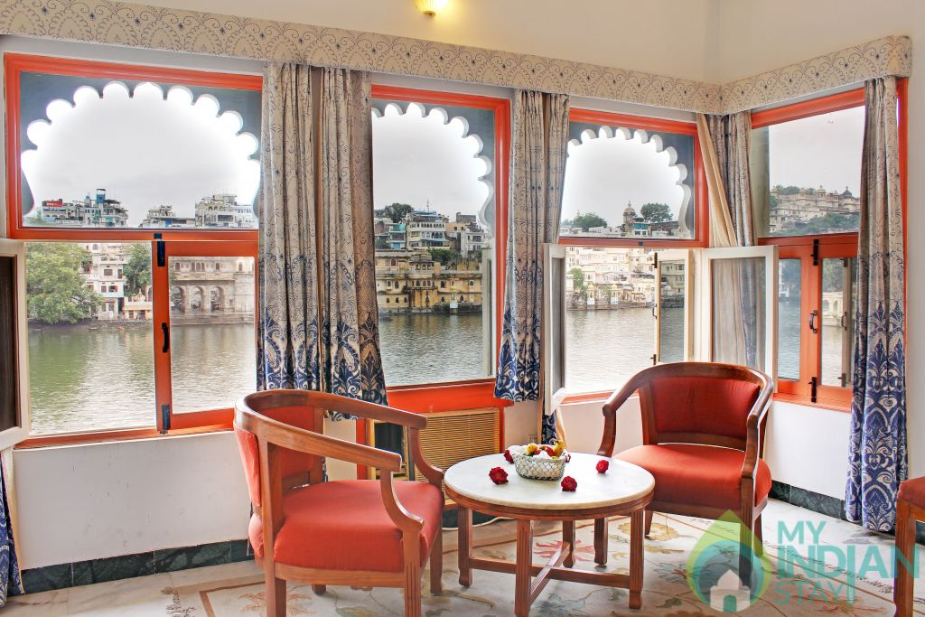 Lake View in a Hotel in Udaipur, Rajasthan