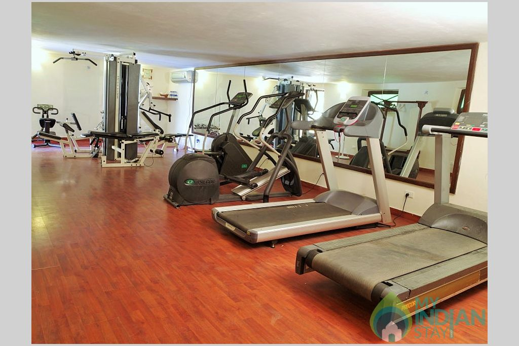 Health Club in a Hotel in Jaisalmer, Rajasthan