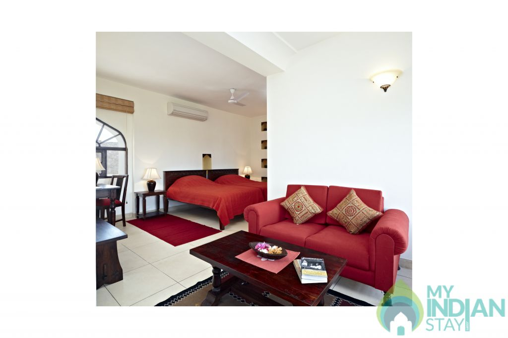 Deluxe Suite 1 in a Hotel in Karauli, Rajasthan