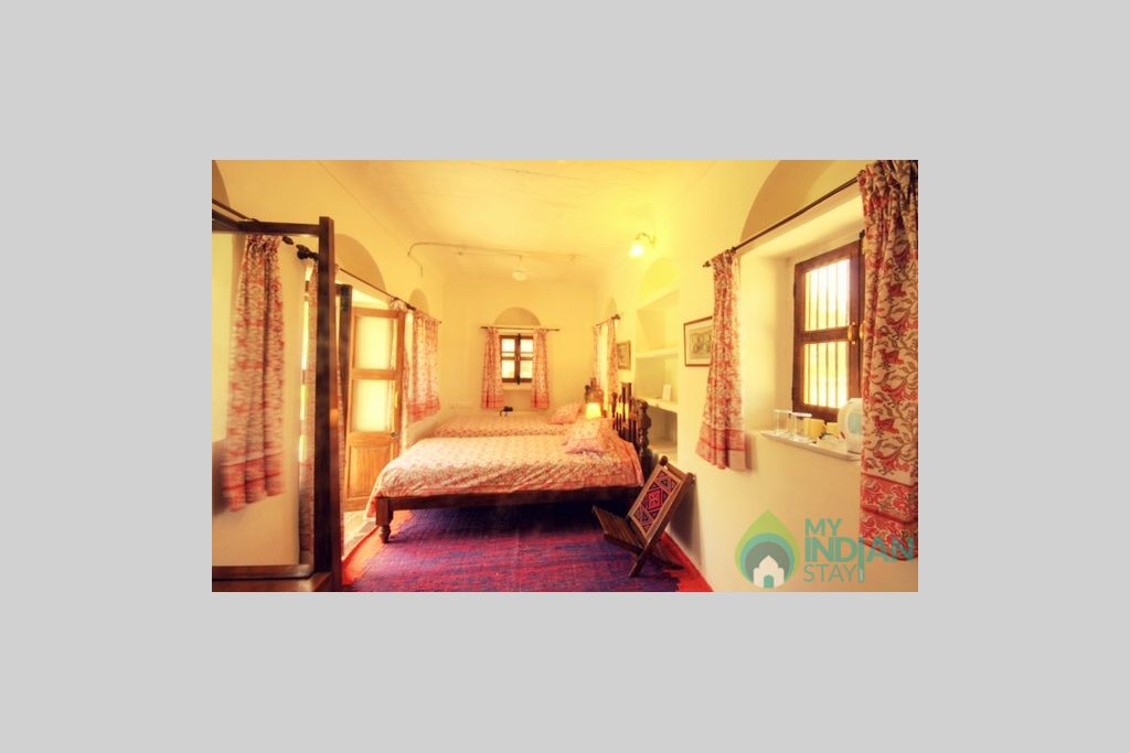Hotel-Bijay-Niwas-Palace-Ajmer-Deluxe-Room (5) in a HomeStay in Bijainagar, Rajasthan