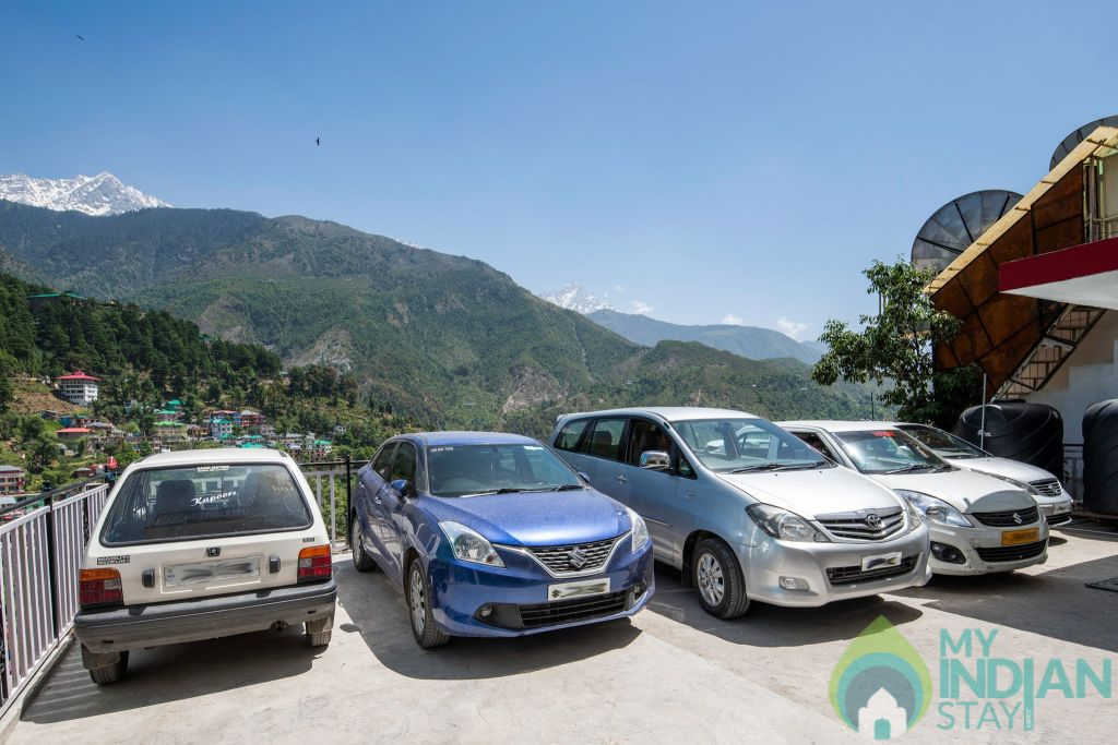 The Posh Hotel Car Parking 2 in a Hotel in Dharamshala, Himachal Pradesh