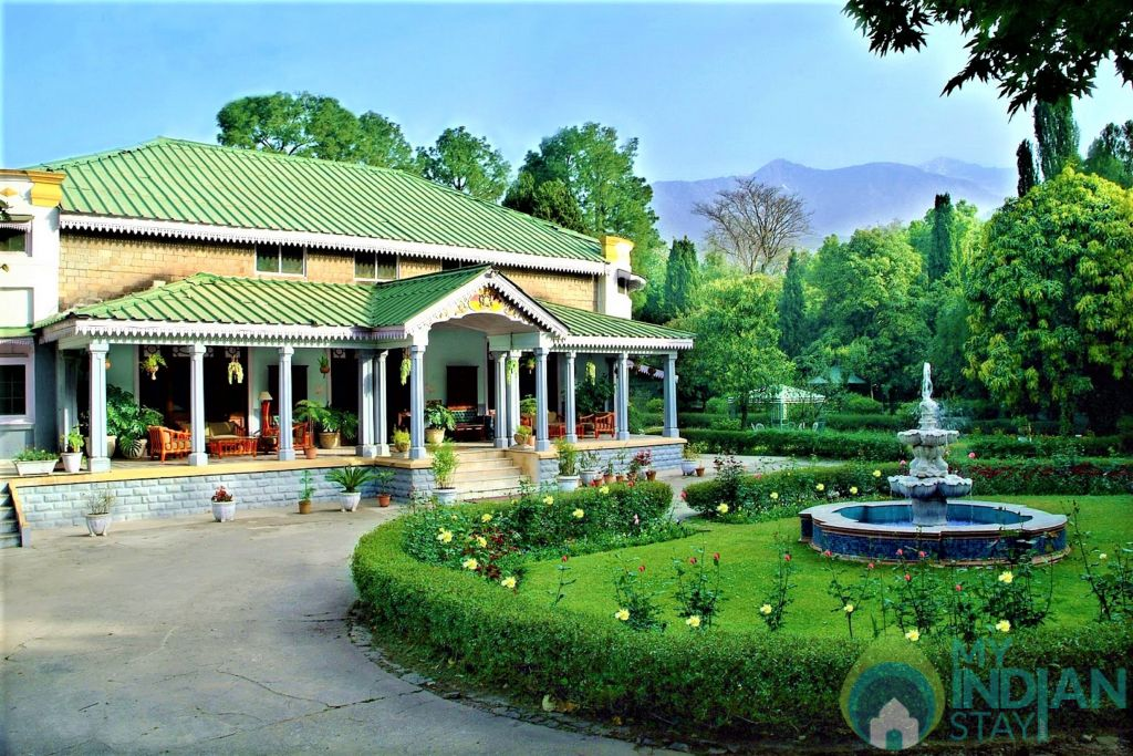 Main picture in a Hotel in Palampur, Himachal Pradesh