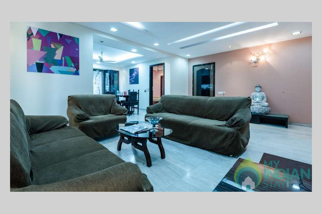 Living_Area_Dragonfly_Service_Apartments_Andheri_Mumbai in a Serviced Apartment in Mumbai, Maharashtra