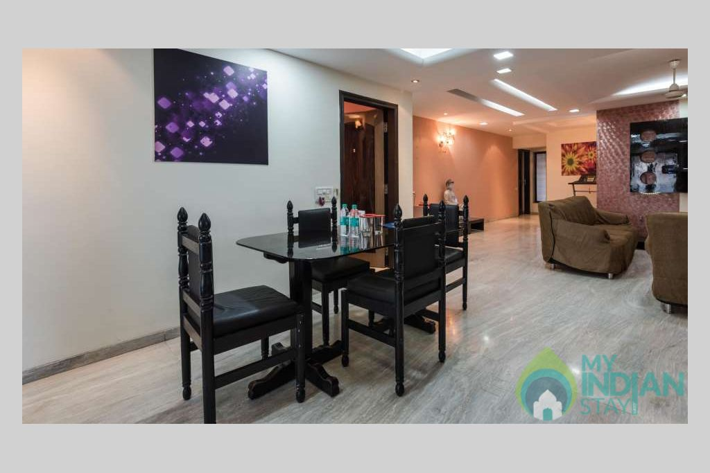 Dining_Area_Dragonfly_Service_Apartments_Andheri_Mumbai in a Serviced Apartment in Mumbai, Maharashtra