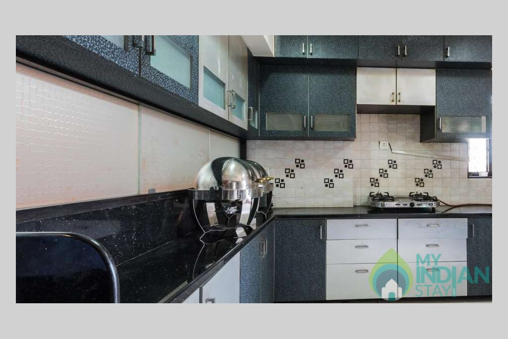 Kitchen_Dragonfly_Service_Apartments_Andheri_Mumbai in a Serviced Apartment in Mumbai, Maharashtra