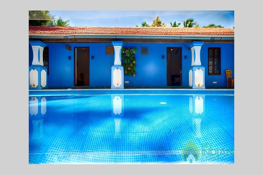 Pool  in a Villa in Calangute, Goa