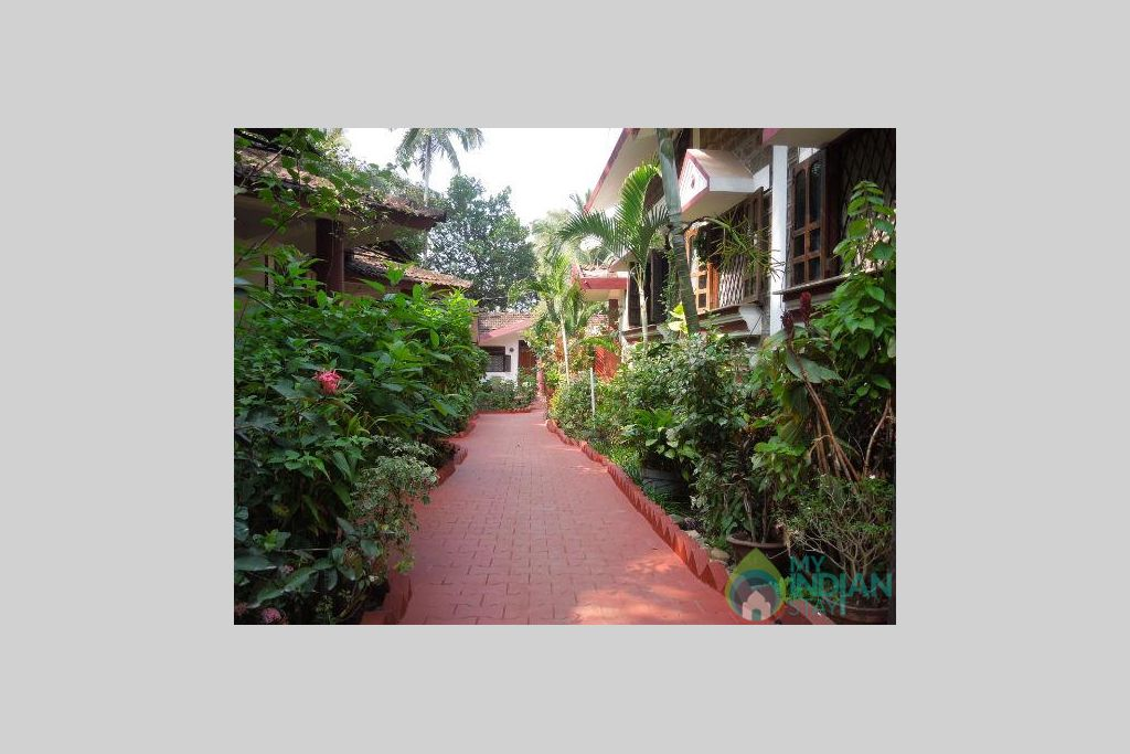 Exterior in a Guest House in Vagator, Goa