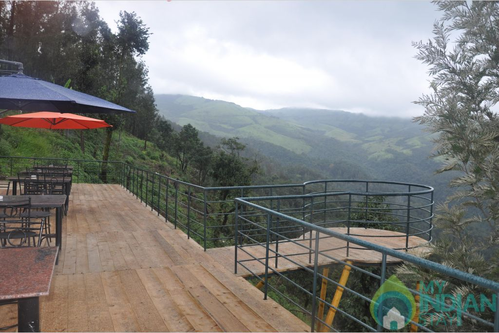 scenic view in a HomeStay in Chikmagalur, Karnataka
