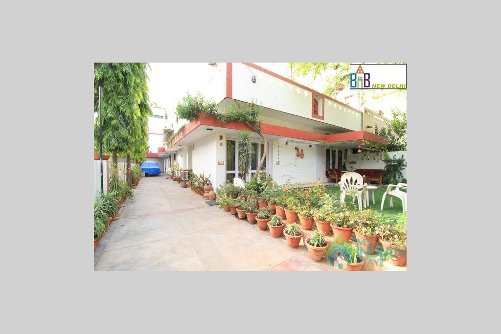 Front View of Property in a Bed & Breakfast in New Delhi, Delhi