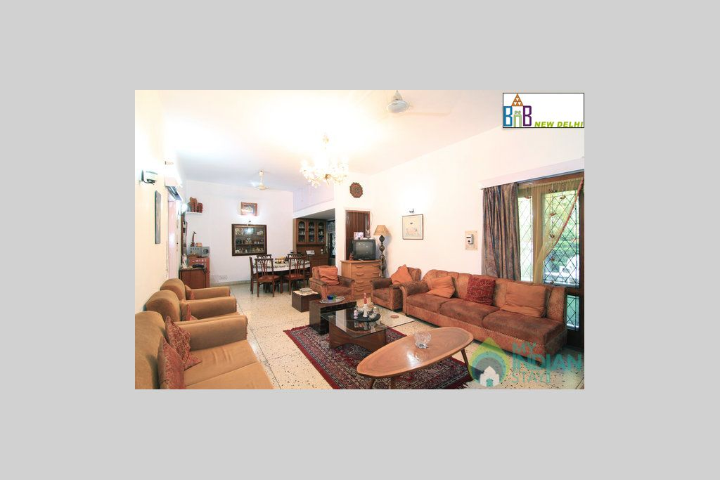 Common Area in a Bed & Breakfast in New Delhi, Delhi