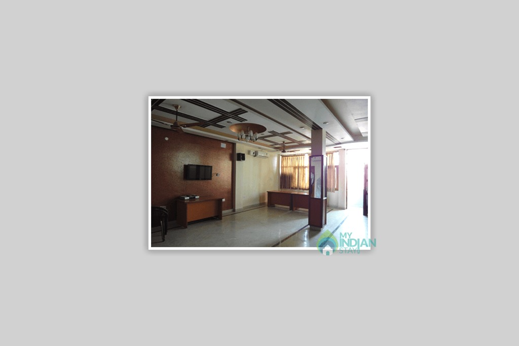 Hall in a Bed & Breakfast in New Delhi, Delhi