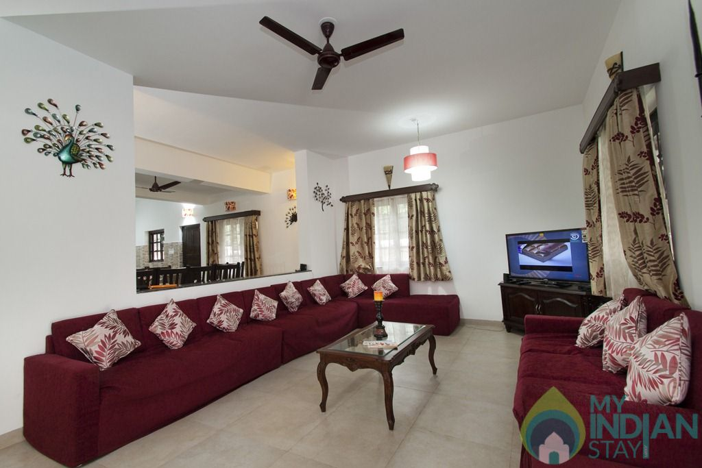 5 in a House in Calangute, Goa