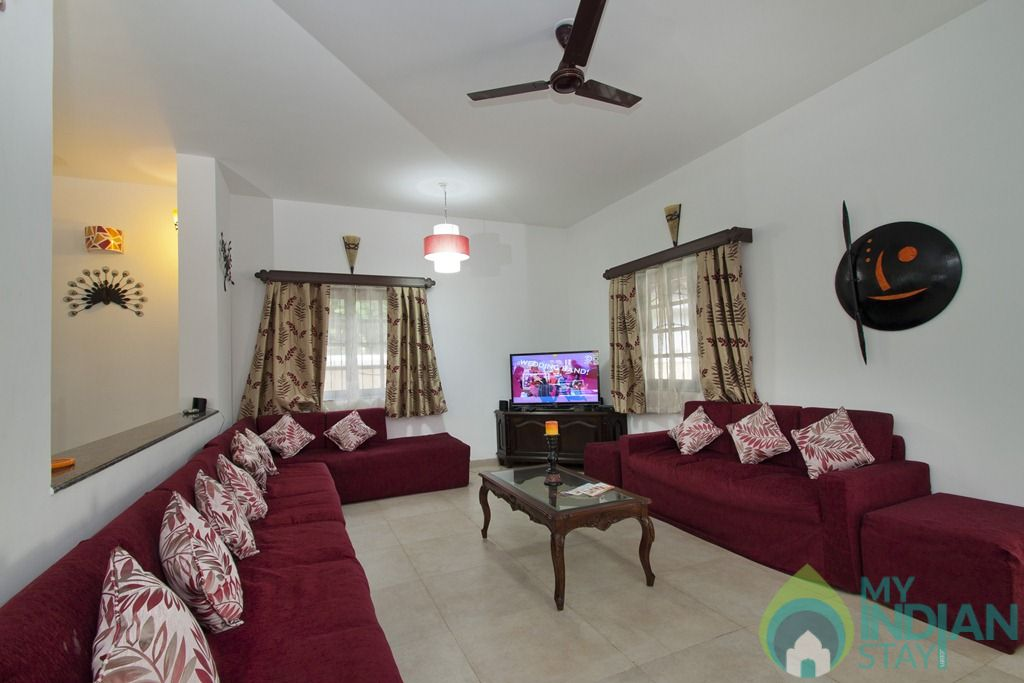 6 in a House in Calangute, Goa