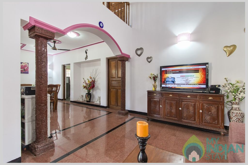 Living Room- Discover one of the finest Villas in Calangute, Goa in a House in Calangute, Goa