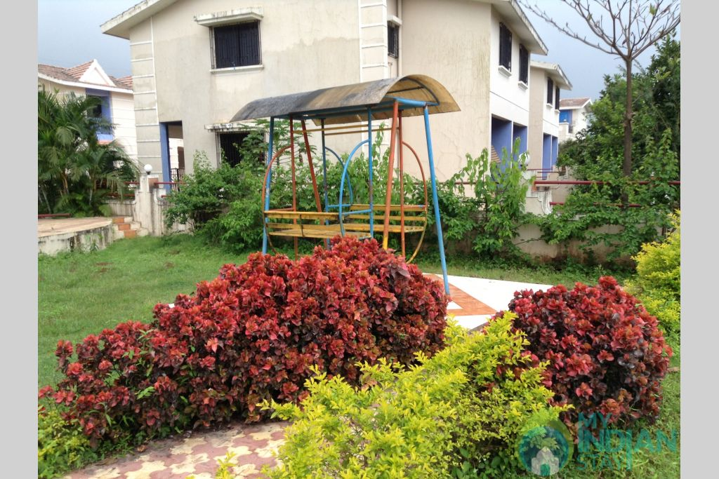 Play ground in a Serviced Apartment in Lonavala, Maharashtra