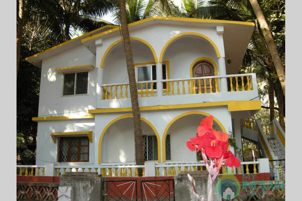 Guesthouse in a Independent Bungalow in Calangute, Goa