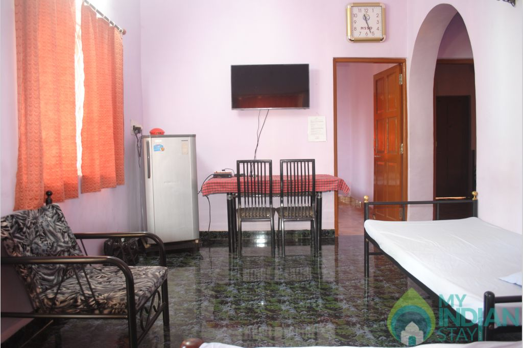 Palm hall Dec 2015 in a Independent Bungalow in Calangute, Goa