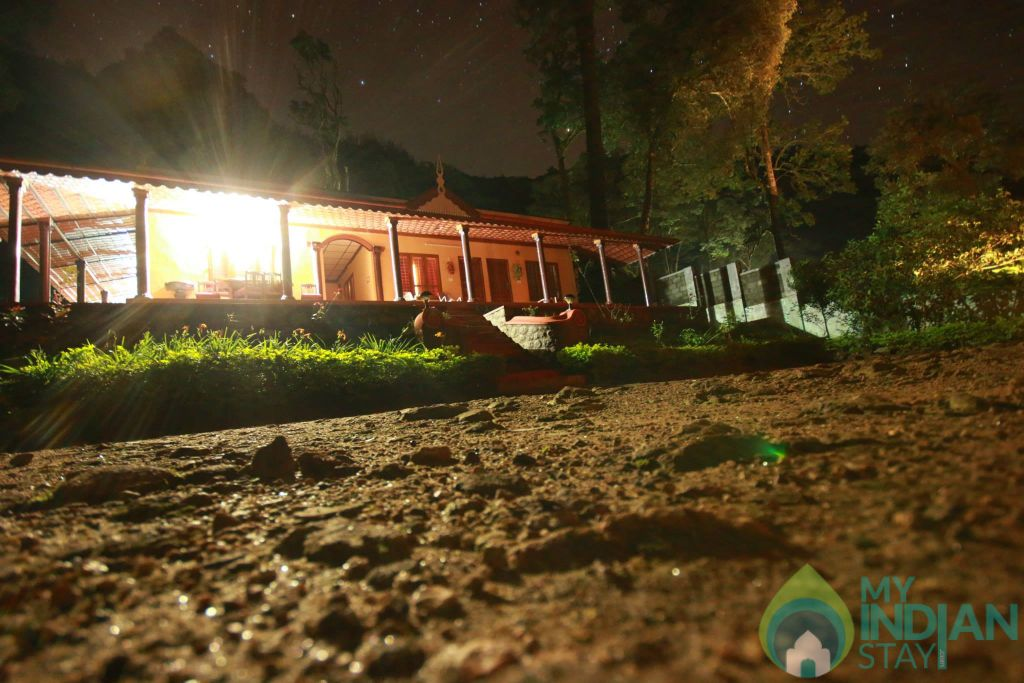 Night View in a Cottage/Huts in Munnar, Kerala