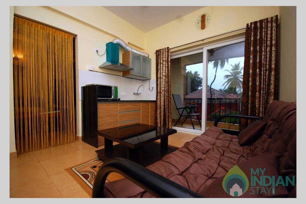 relax7 in a Serviced Apartment in Arpora, Goa