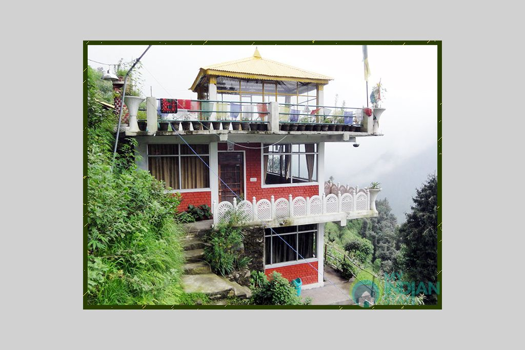 Front View in a HomeStay in  Dalhousie , Himachal Pradesh