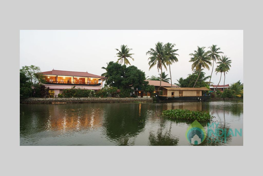 Hotel Exterior View in a HomeStay in Kumarakom, Kerala