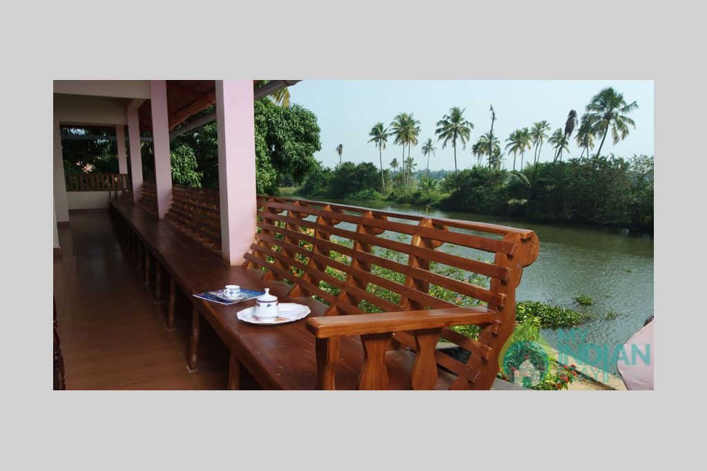 Balcony View in a HomeStay in Kumarakom, Kerala