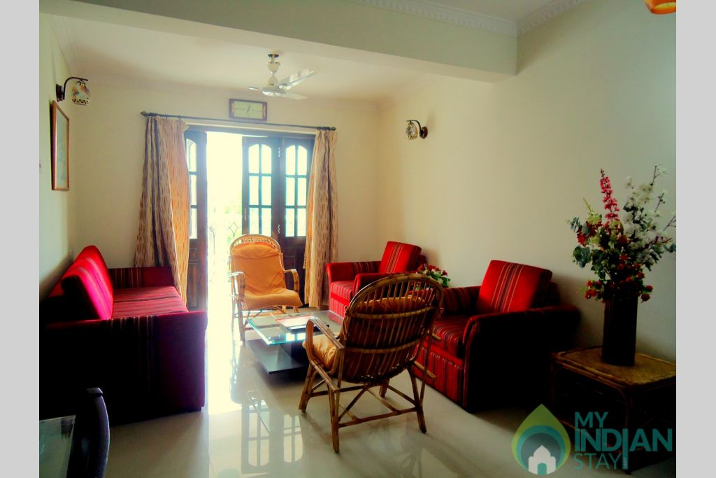 1 in a Self Catered Apartment in Candolim, Goa