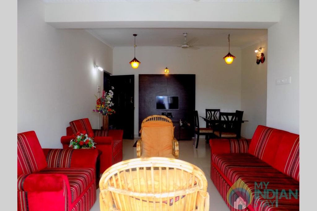 5 in a Self Catered Apartment in Candolim, Goa