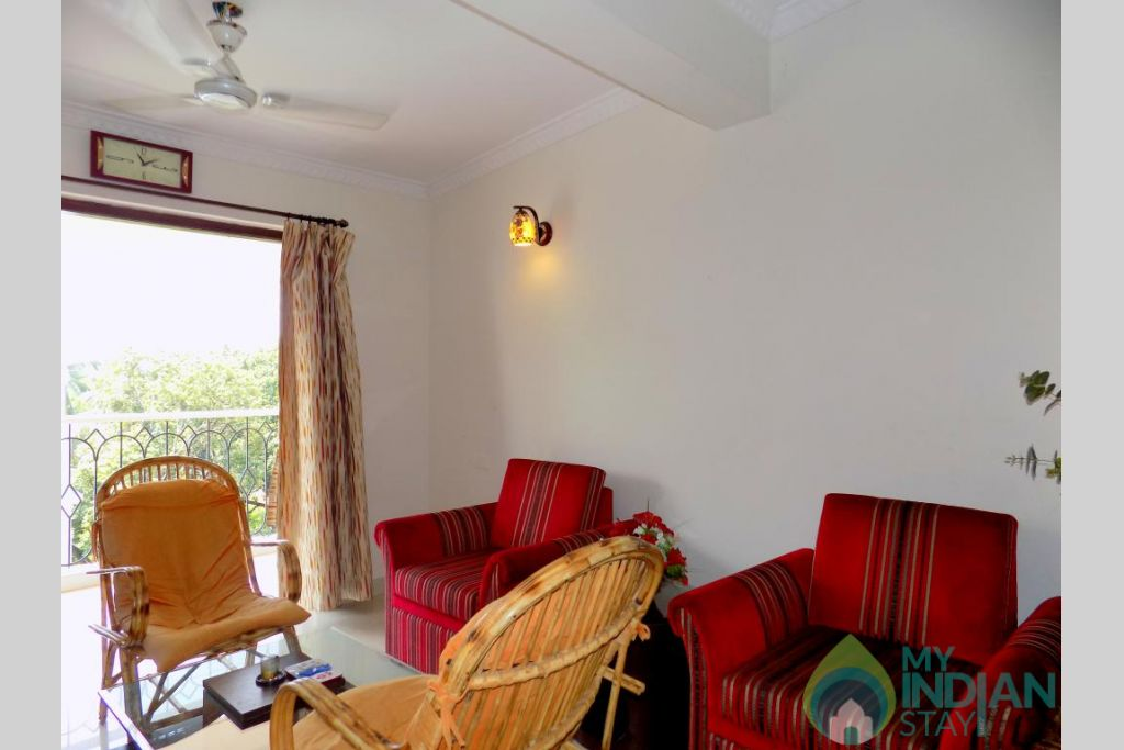 6 in a Self Catered Apartment in Candolim, Goa