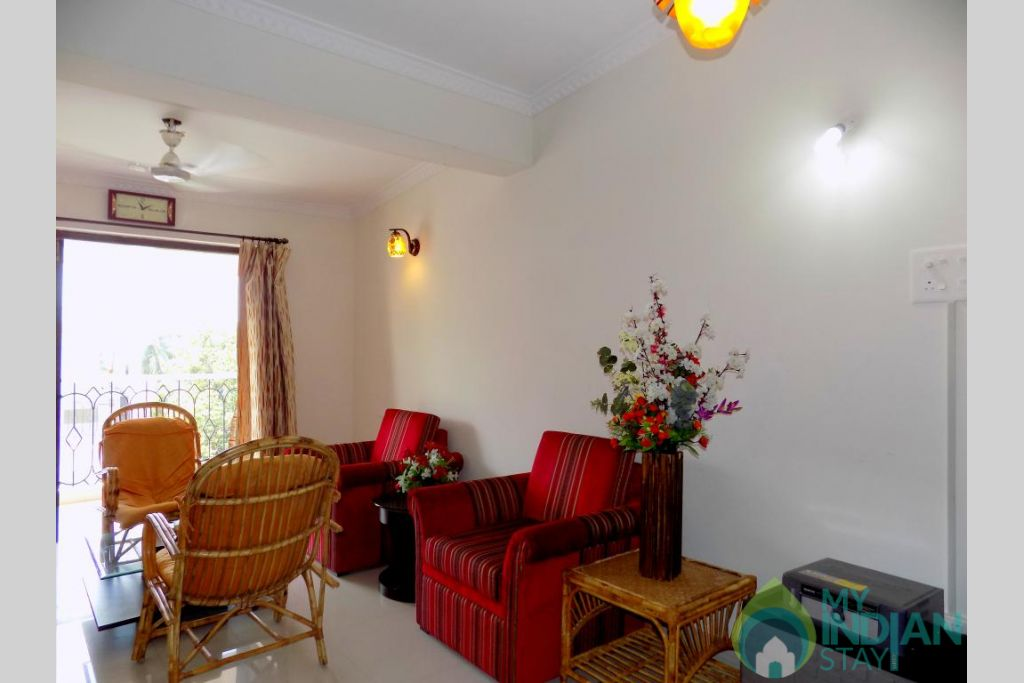 7 in a Self Catered Apartment in Candolim, Goa