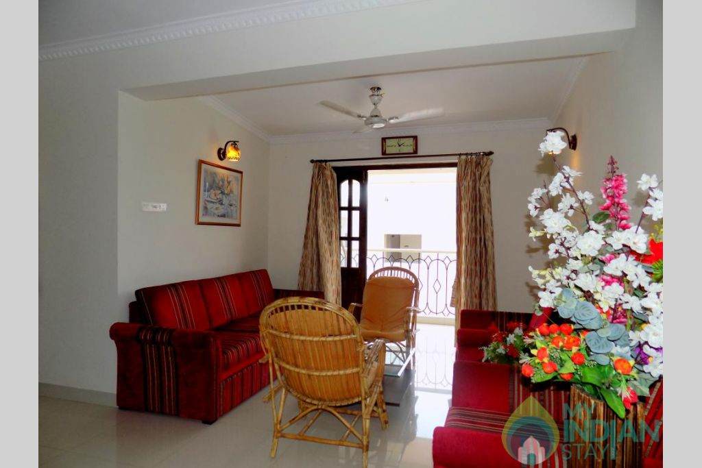 8 in a Self Catered Apartment in Candolim, Goa