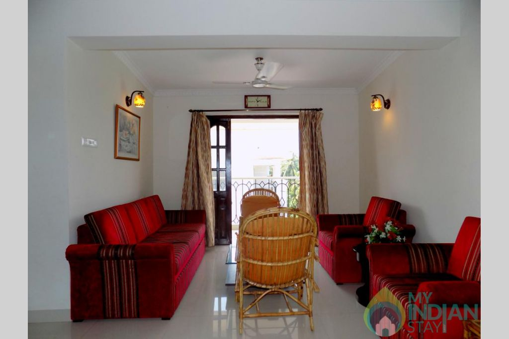9 in a Self Catered Apartment in Candolim, Goa