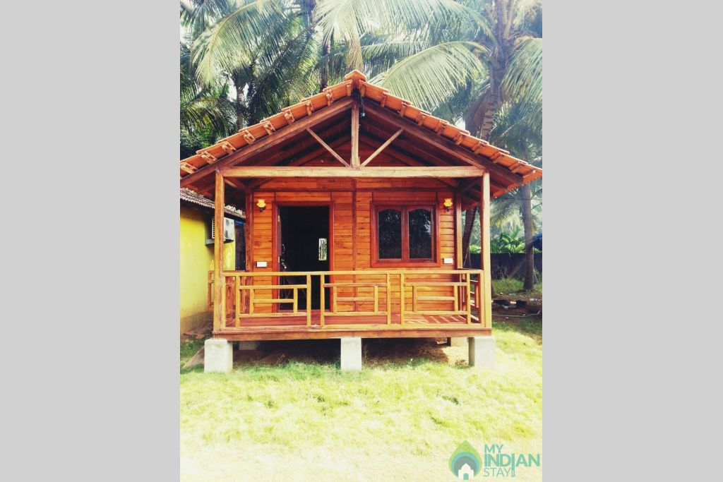 Front  View  in a Cottage/Huts in Morjim, Goa