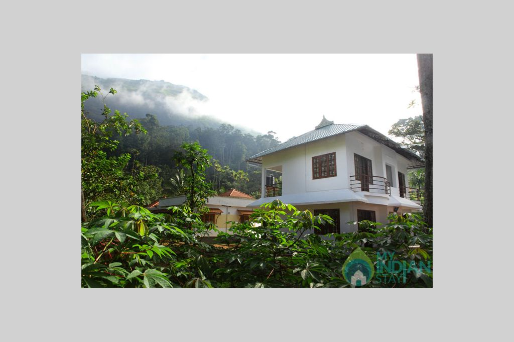 Front View in a Bed & Breakfast in Munnar, Kerala