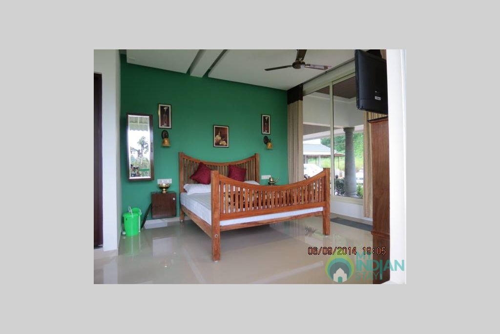 Large Bedroom with Balcony in a HomeStay in Munnar, Kerala