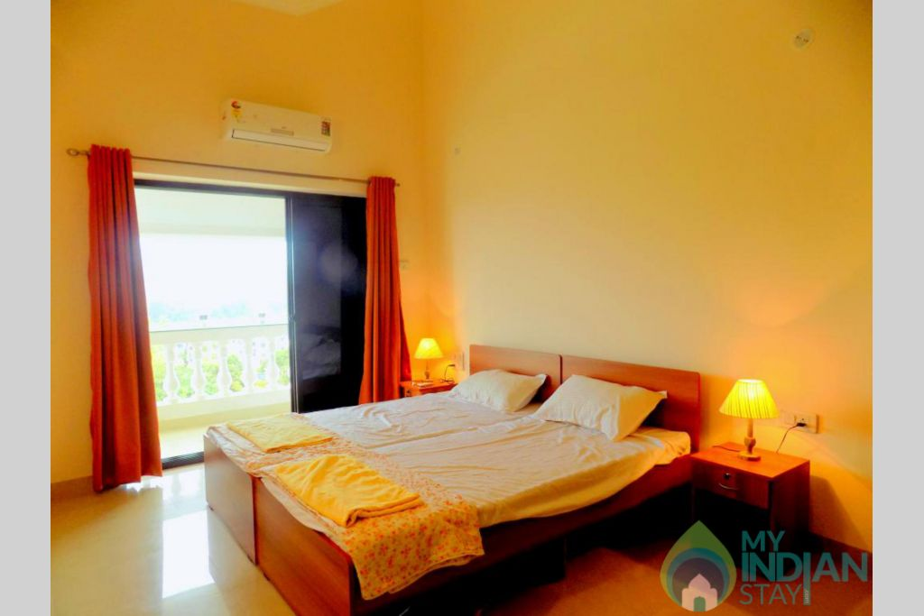 3 in a Self Catered Apartment in Siolim, Goa