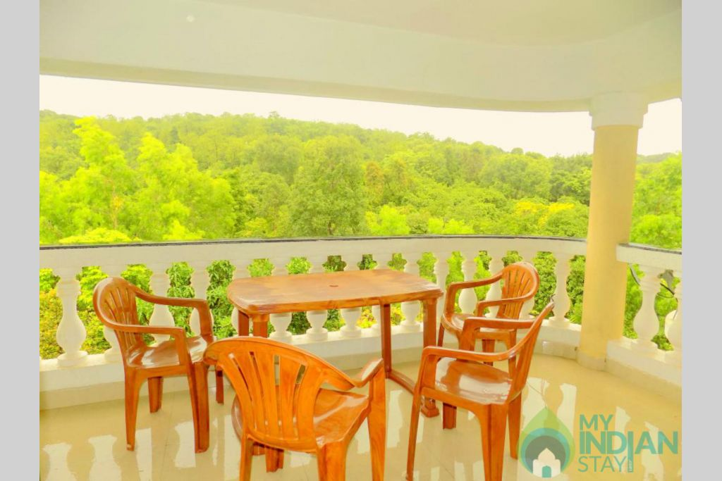 9 in a Self Catered Apartment in Siolim, Goa