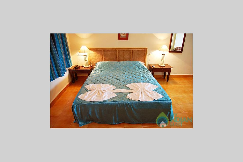 Master_bed in a Self Catered Apartment in Candolim, Goa