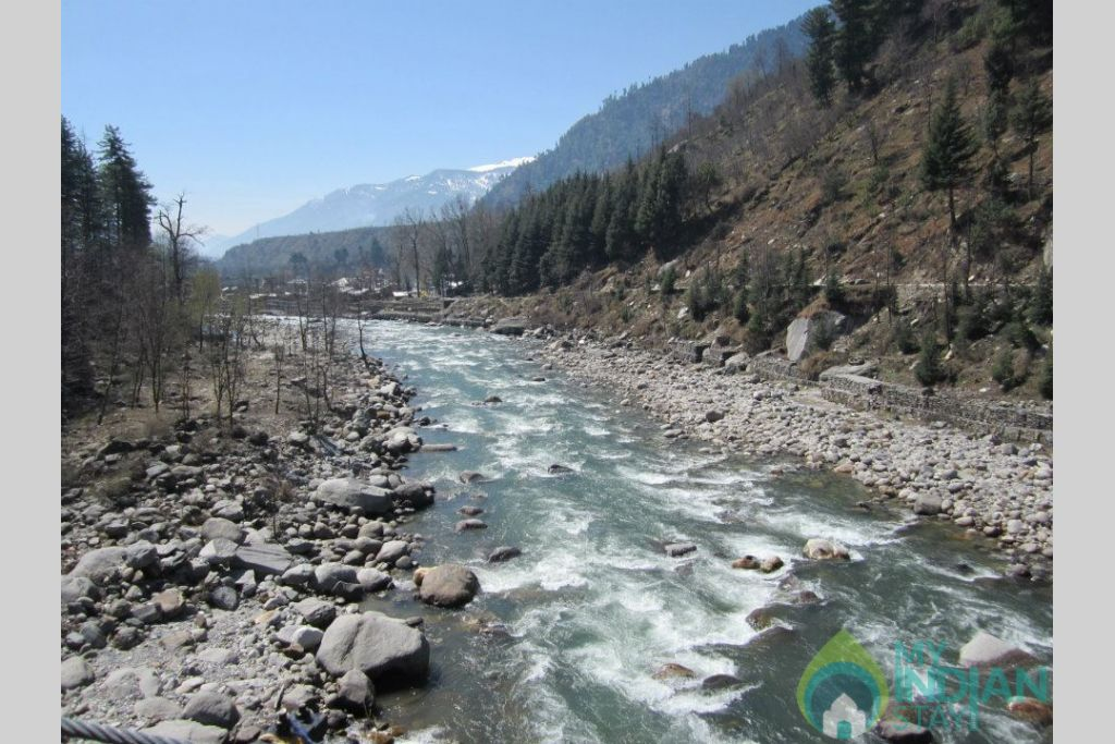 River in a HomeStay in Kufri, Himachal Pradesh