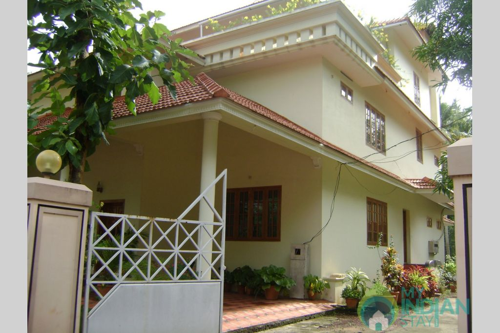 The Enterence in a HomeStay in Thiruvananthapuram, Kerala
