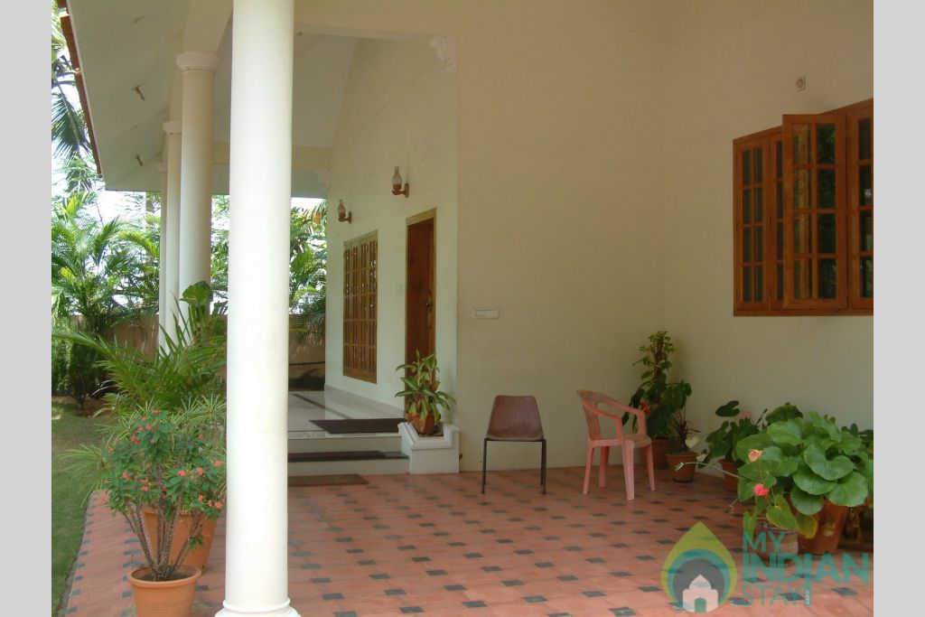 Enterance in a HomeStay in Thiruvananthapuram, Kerala